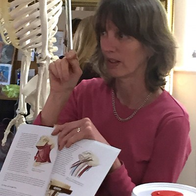 Belinda Teaching Anatomy